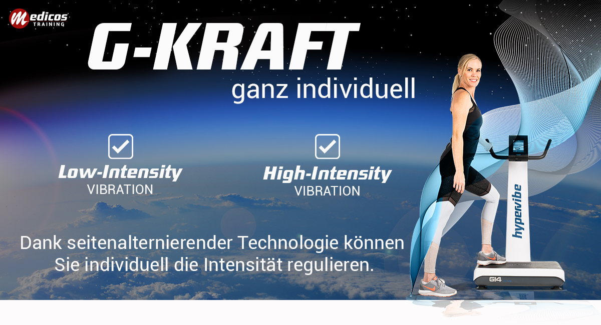 G-kraft von Low-Intensity zu High-Intensity